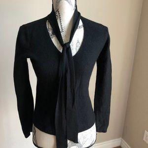 Aritzia Babaton Black Sweater 100% Merino wool